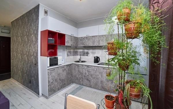 Продажа квартиры-студии на 3/10 этаже панельного дома на ул. Варлам. - Фото 9
