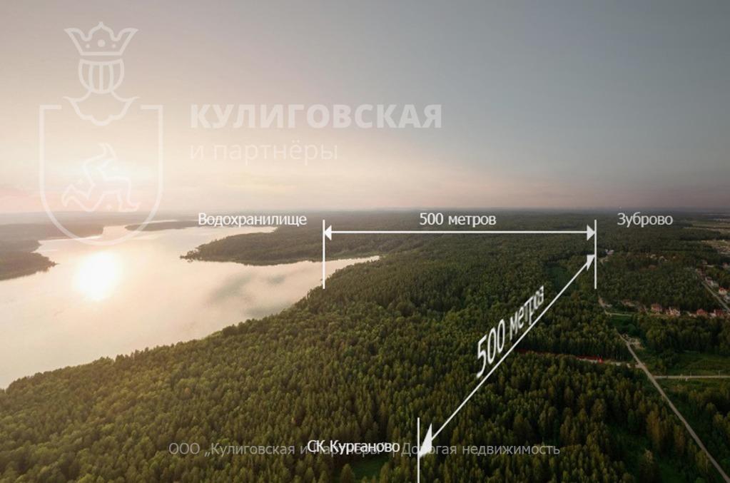 Земельный участок 12 соток к.п. Зуброво Коммуникации все Центральные - Фото 3