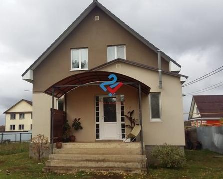 Дом 105 м на участке 12 сот., Купить дом в Уфе, ID объекта - 504413202 - Фото 1