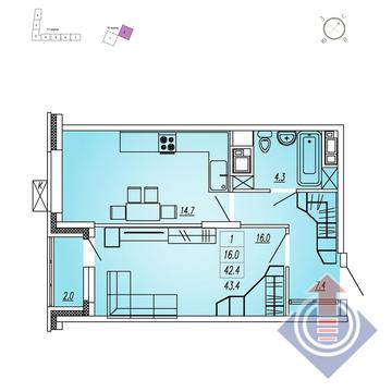 Продажа квартиры, Мытищи, Мытищинский район, Купить квартиру от застройщика в Мытищах, ID объекта - 328979096 - Фото 1