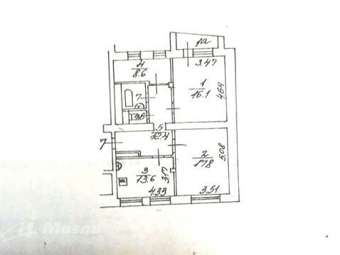 Продается 2к.кв, 1-й Спасоналивковский переулок пер., Купить квартиру в Москве, ID объекта - 333979463 - Фото 13