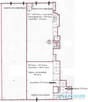 460 Руб., Сдается в аренду помещение 4930 кв.м. - 1 этаж в Парголово., Аренда склада в Санкт-Петербурге, ID объекта - 900621634 - Фото 7