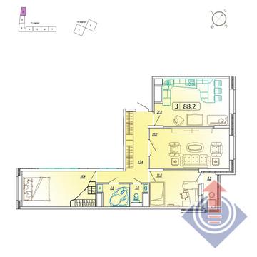 Продажа квартиры, Мытищи, Мытищинский район, Купить квартиру от застройщика в Мытищах, ID объекта - 328979153 - Фото 1