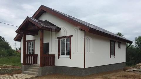 Продается дом в Дмитрове. 100 кв.м. из газобетонного блока в 55 км от .