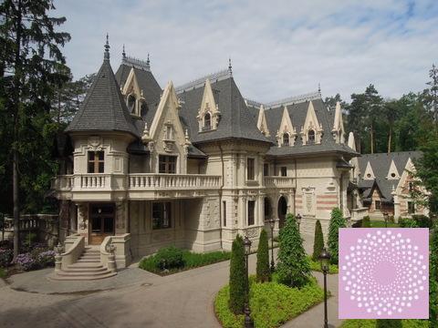 Коттедж в дворцовом стиле на Минском шоссе., Купить дом в Одинцово, ID объекта - 503442473 - Фото 1