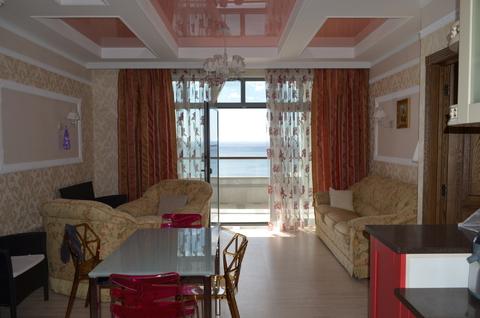 25 000 000 Руб., Роскошные апартаменты на берегу моря, Купить квартиру в Ялте, ID объекта - 333953894 - Фото 1