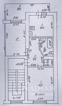 2-к кв. Краснодарский край, Анапа ул. Ленина, 177 (53.7 м)