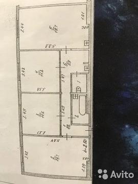 3-к квартира, 78 м, 5/9 эт.