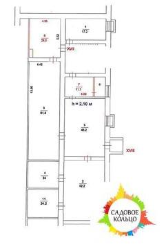 Помещение свободного назначения с отдельным входом общей площадью 264