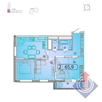 Продажа квартиры, Мытищи, Мытищинский район, Купить квартиру от застройщика в Мытищах, ID объекта - 328979403 - Фото 1