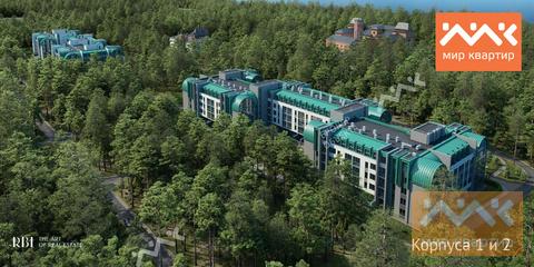 Студия с большой террасой в Курортном районе!, Купить квартиру в Сестрорецке, ID объекта - 331072632 - Фото 2