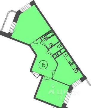2-к кв. Московская область, Мытищи Осташковское ш, 22к1 (58.2 м)