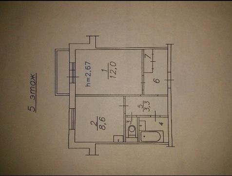 Продам 1комн. Кутузова 87б, Купить квартиру в Красноярске, ID объекта - 333077470 - Фото 7