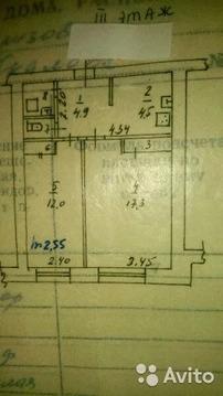 2-к квартира, 44 м, 3/4 эт.