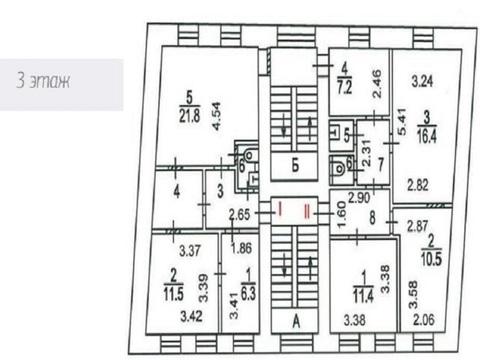3-х этажный особняк 3-я Тверская-Ямская ул, 3с2, Продажа помещений свободного назначения в Москве, ID объекта - 900684422 - Фото 9