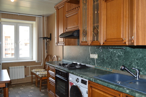 Сдается трех комнатная квартира, Снять квартиру в Домодедово, ID объекта - 329194337 - Фото 1