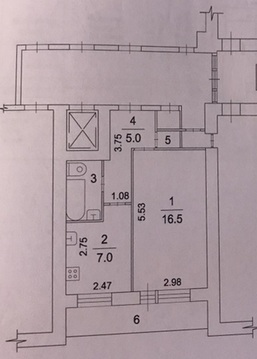 Продается 1-комнатная квартира г. Жуковский, ул. Мясищева, д. 8, корп., Купить квартиру в Жуковском, ID объекта - 334060036 - Фото 9