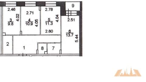 3-комн. квартира, 66 м2 в ЖК «Коренёвский Форт 2», Купить квартиру Мотяково, Люберецкий район, ID объекта - 333952704 - Фото 6