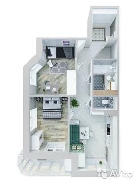 2-к квартира, 69.4 м, 11/21 эт.