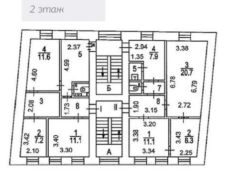 3-х этажный особняк 3-я Тверская-Ямская ул, 3с2, Продажа помещений свободного назначения в Москве, ID объекта - 900684422 - Фото 8