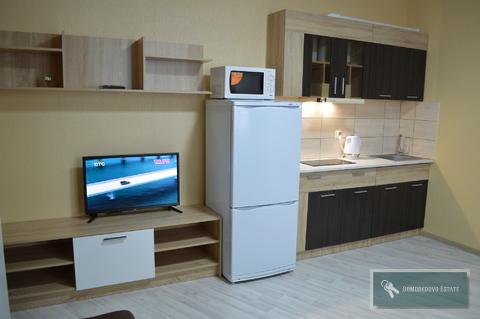 Сдается студия 25м2, Снять квартиру в Домодедово, ID объекта - 333304523 - Фото 1