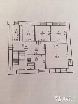2 680 000 Руб., Продается 4-комн. квартира, 77.1 кв.м, 1/3 ул. Дзержинского, Купить квартиру в Калуге, ID объекта - 317831824 - Фото 1