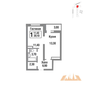 Продажа квартиры, Балашиха, Балашиха г. о, Д 22