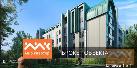 Студия с большой террасой в Курортном районе!, Купить квартиру в Сестрорецке, ID объекта - 331072632 - Фото 1