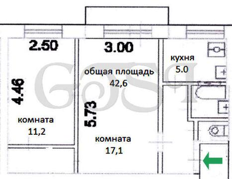 Уютная 2-х комнатная квартира в кирпичном доме, Купить квартиру в Москве, ID объекта - 333824288 - Фото 6