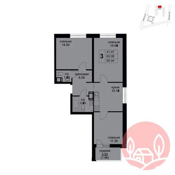 Продажа квартиры, м. Саларьево, Д 24