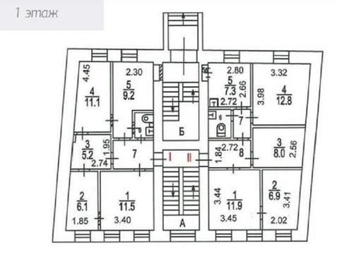 3-х этажный особняк 3-я Тверская-Ямская ул, 3с2, Продажа помещений свободного назначения в Москве, ID объекта - 900684422 - Фото 7