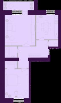 Продается квартира г Тула, ул Октябрьская, д 269, Купить квартиру в Туле, ID объекта - 333080005 - Фото 1