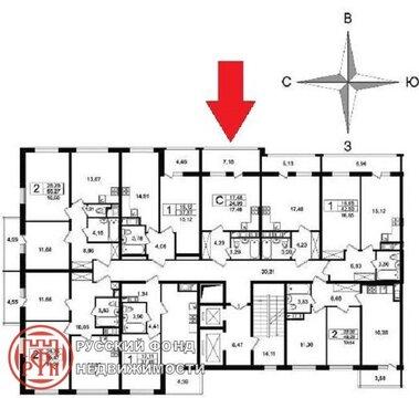 Продам студию. Космонавтов пр, д.102 к.3, Купить квартиру в Санкт-Петербурге, ID объекта - 332866006 - Фото 2