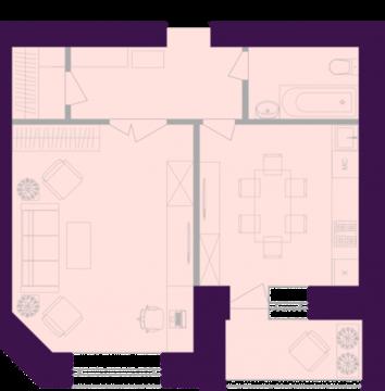 Продается квартира г Тула, ул Октябрьская, д 269, Купить квартиру в Туле, ID объекта - 333080006 - Фото 1