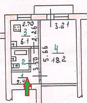 Квартира, ул. Кузнецова, д.8