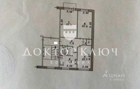 3-к кв. Новосибирская область, Новосибирск ул. Пархоменко, 94 (59.0 м)