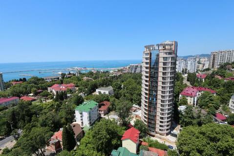 """Квартира 105 м2 в элитном ЖК """"Нагорная 1"""" в центре Сочи."""
