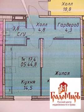 Продается 1к.кв, г. Мытищи, Борисовка