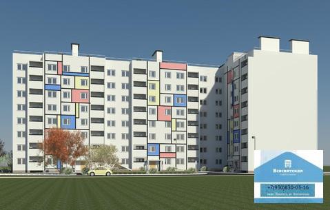 Продается 1-комнатная квартира в новом доме, мкр.Юрьевец, Купить квартиру от застройщика в Владимире, ID объекта - 313590144 - Фото 1