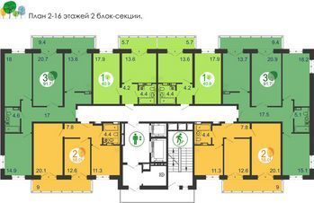 Продажа квартиры, Красноярск, Купить квартиру в Красноярске, ID объекта - 332760616 - Фото 1