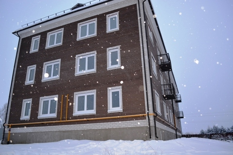 Новый дом и новые соседи, Купить квартиру в Боровске, ID объекта - 333395278 - Фото 1