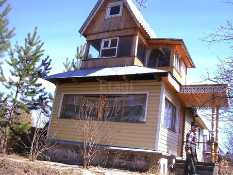 Продам 1-этажн. дачу 40 кв.м. Велижанский тракт, Купить дом в Тюмени, ID объекта - 503800569 - Фото 1