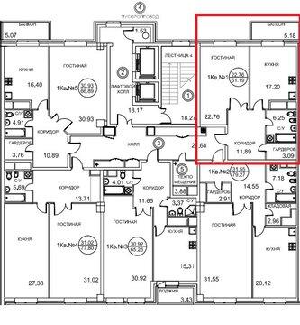 "62кв.м, 3 этаж, 8 секция в ЖК""Royal House on Yauza"", Купить квартиру от застройщика в Москве, ID объекта - 318510871 - Фото 1"