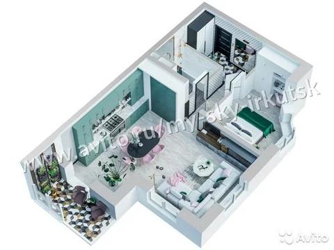 2-к квартира, 62.6 м, 6/21 эт.