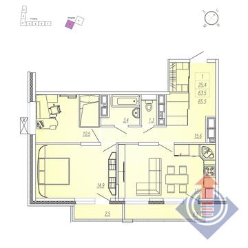 Продажа квартиры, Мытищи, Мытищинский район, Купить квартиру от застройщика в Мытищах, ID объекта - 328978890 - Фото 1