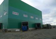 Производственно-складской комплекс 4.250 м2, тёплый, высота потолков =