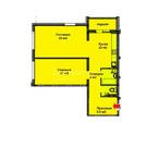 Энергетиков, 24 (2-комн, м2), Купить квартиру в Барнауле, ID объекта - 331006311 - Фото 9