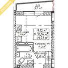 1-комн. Ленина, 123(19.77), Купить квартиру в Барнауле, ID объекта - 330836015 - Фото 3
