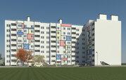 Продается 3-х комнатная квартира в новом доме, мкр.Юрьевец, Купить квартиру от застройщика в Владимире, ID объекта - 313381402 - Фото 1