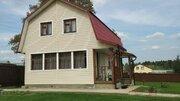 Теплый дом 100 кв.м. (сруб), 12 соток, эл-во , вода. СНТ. 700 м. до .